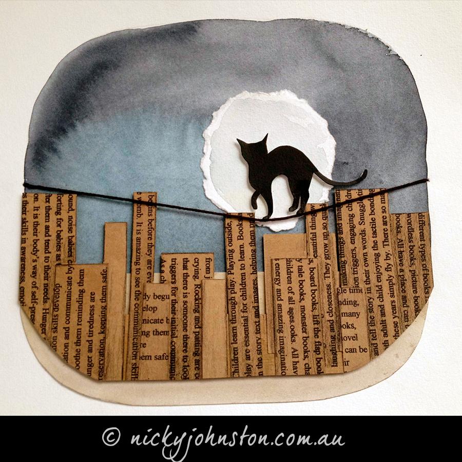 Black-cat-moonlight-Nicky-Johnston