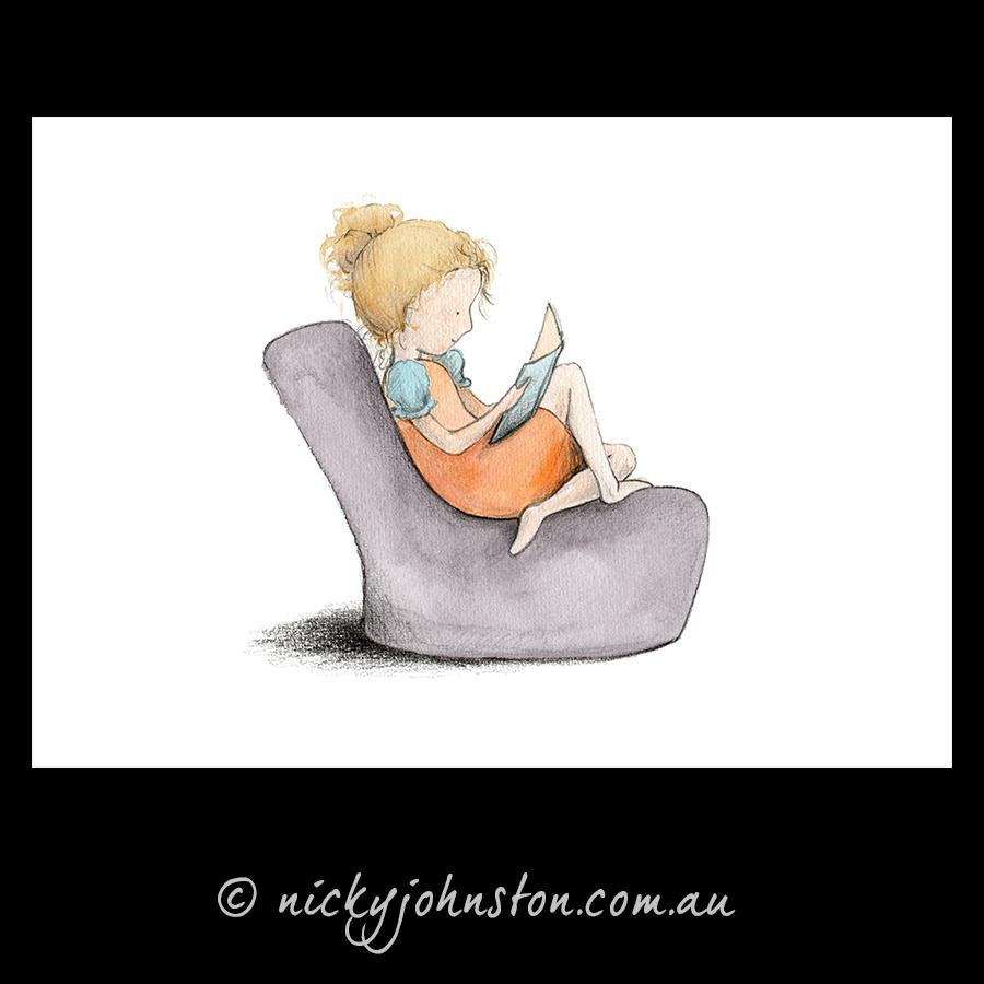 girl-reading-giclee-print-nicky-johnston
