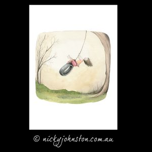 Tyre-swing-giclee-print-nicky-johnston