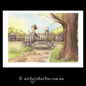 Actually-I-Can-bridge-giclee-print-nicky-johnston
