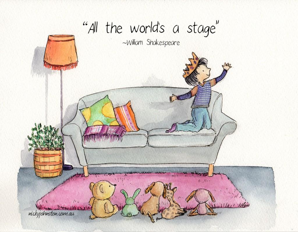 nicky-johnston-illustration-52 week-challenge-shakespeare