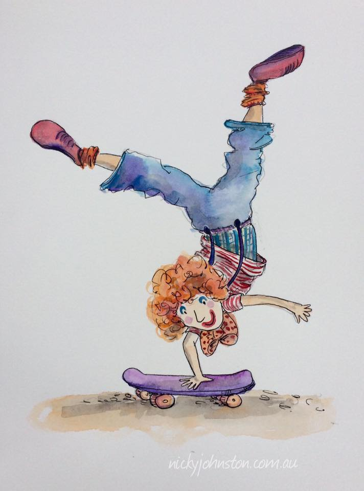 nicky-johnston-illustration-carnival-clown