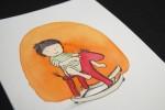 nicky-johnston-illustration-52 week-challenge-childhood-original-artwork-play-horse