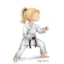 Karate-custom-illustration-nicky-johnston