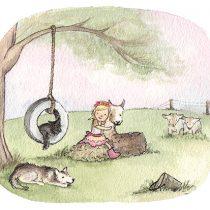 Custom Illustration Nicky Johnston