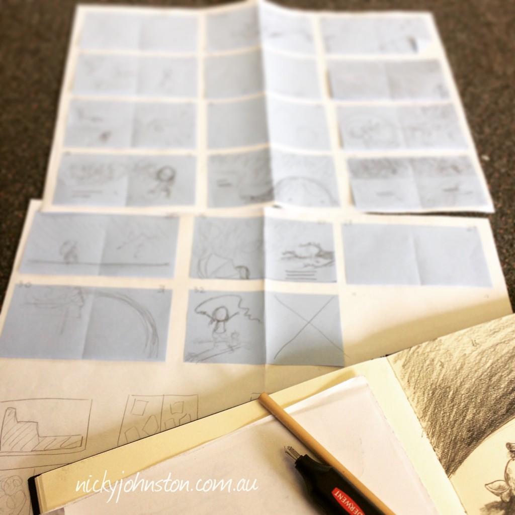 nicky-johnston-illustrator-roughs