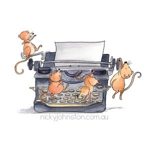 Shop_photo_mouse typewriter