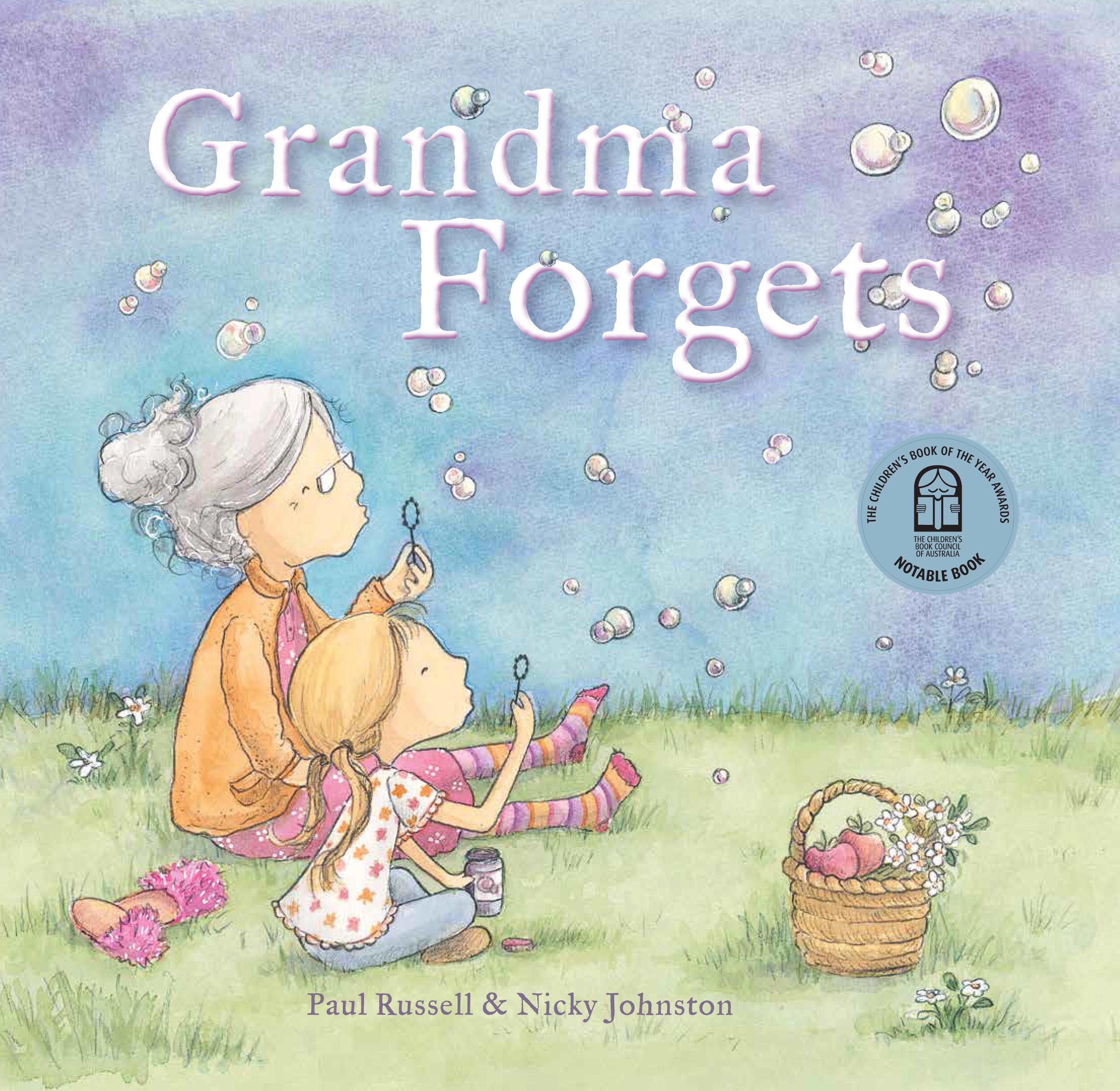 Grandma Forgets, Nicky Johnston Illustrator