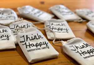 Think Happy Inspirational Cards by Nicky Johnston